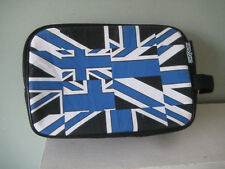 Soap & Glory Zipped Wash Bag/Travel Storage Bag Blue Stylised Union Jack