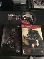 PS2 Playstation 2 Shadow Of The Colossus CIB Complete