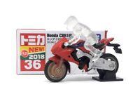 Tomica DieCast Modell Motorrad 1:32 Nr.36 Honda CBR 1000 RR rot Takara Tomy