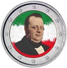 Italien 2 Euro 2010 Camillo Benso Graf von Cavour Prägefrisch in Farbe