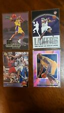 New listing 4 Card LOT KOBE BRYANT SHAQUILLE ONEAL METAL EX2000 TOPPS PRISTINE UPPER DECK