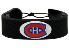 Montreal Canadiens NHL Classic Hockey Puck Rubber Bracelet