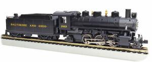 Gauge H0 - Bachmann Steam Locomotive 2 6 2 Baltimore & Ohio With Smoke - 51506