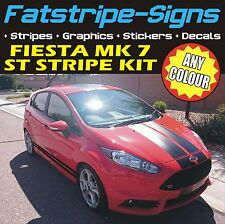 FORD FIESTA MK7 STRIPES ST CAR VINYL GRAPHICS DECALS VIPER RACING STICKERS 1.6 T