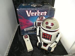 Vintage Tomy Verbot Robot w/ Box -- Cool!!