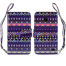 Stylish Tribal Design Wallet Leather Case for Nokia Lumia 630 635 - Kickstand