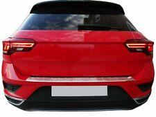 Ladekantenschutz für VW T-ROC (A11) ab 2017- | Edelstahl poliert mit Abkantung