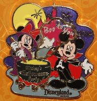 Disney Mickey's Halloween MICKEY & MINNIE 2014 Limited Release Boo to You Pin