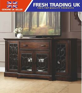 """Bayside Furnishings Ashcroft Cabinet-Media TV Console for TVs up to 80""""-RRP £640"""