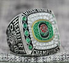 2020 Rose Bowl Oregon Ducks NCAA National Championship Ring 7-15S /Cotton bag