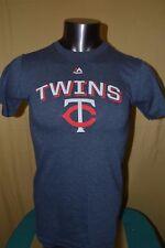 Majestic Mlb Mens Minnesota Twins Baseball Shirt Nwt $26 S, M, L, Xl, 2Xl