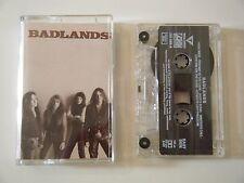 BADLANDS S/T SELF TITLED CASSETTE TAPE ALBUM ATLANTIC 1989