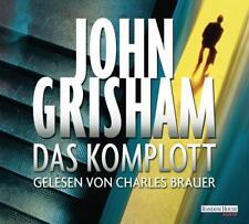 Das Komplott von John Grisham (2013, CD)