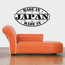 Wall Vinyl Sticker Decals Mural Room Design Art Made In Japan Stamp Logo bo633