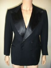 VINTAGE 1940'S TUXEDO MOVIE COSTUME WITH SATIN LAPELS FROM WESTERN COSTUME