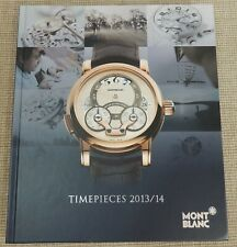 TIMEPIECES 2013/14 - MONTBLANC Catalogue | Thames Hospice