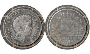 ½ Drachma 1834 A // Kingdom of Greece 🇬🇷  Silver Coin // King Otto # 19