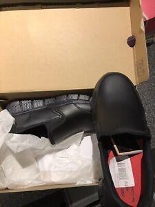 BNIB Skechers black loafers slip-ons school shoes size 3