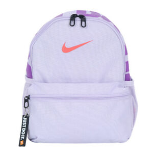 Nike Brasilia Just Do It Mini Backpack Sports Bag School Violet BA5559-520