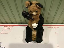 Battery Operated Rvt Drinking Bear Mechanical Toy.
