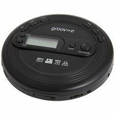 Groov-e Retro Series Personal CD Player + Radio MP3 Playback and Earphones