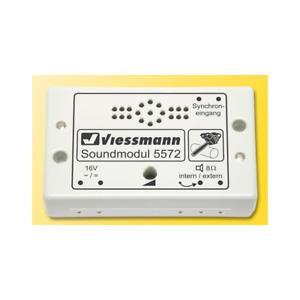Viessmann H0 5572 - Sound Module Chainsaw New