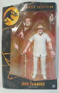 "Jurassic Park Amber Collection JOHN HAMMOND Mattel 6"" Inch Figure NEW 2021"