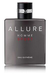 CHANEL ALLURE Homme Sport Eau Extreme Eau de Parfum EDP 5.0 oz, NEW, SEALED