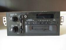 1995 -2000 Chevy Sonoma S10 Blazer AM/FM Delco radio with aux input #09371605