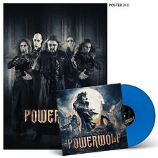 POWERWOLF - BLESSED & POSSESSED LP NEW BLUE VINYL FREE U.S. SHIPPING