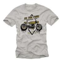 Männer Kiffer Party Shirt Vintage Skull Herren T-Shirt mit Gras Bier Narcotics