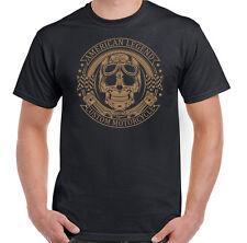 American Legend Custom Motorcycles Mens Biker T-Shirt Motorbike Indian
