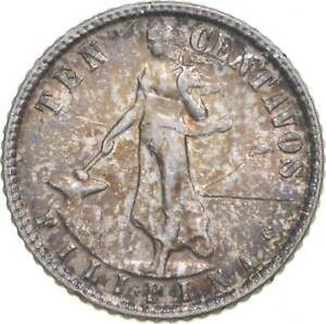 Better - 1945 Philippines 10 Centavos - TC *726