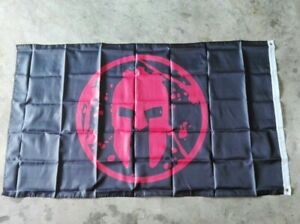 Spartan Race Flag Ensign Blazon Color Nylon Gift Run Hanging Decoration 90x150cm