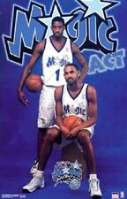 2000 Magic Act Tracy McGrady Grant Hill Orlando Magic Orig. Starline Poster OOP