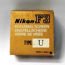 Nikon F3 type U  focusing screen
