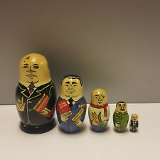 Matroschka Matruschka Matrjoschka Gorbatschow, Breschnew, Chruschtschow, Stalin