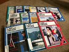 (13) 1993 and 1994 LAW AND ORDER - POLICE magazine lot