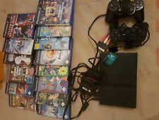 Playstation 2 mit 2 Controllern+Spielen für Kinder ab 6 Jahren geeignet