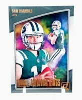 Sam Darnold 2018 Donruss Rookie Gridiron Kings New York Jets