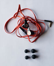 Black Dre Beats Tour 1.0 Wired Headphones WITHOUT Control Knob - Refurbished