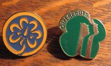 Girl Scouts America Pins - GSA World Trefoil Membership Pin Scouting Badges (2)