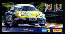 Patrick Simon y marc Basseng original firmado Motorsport + G 15209