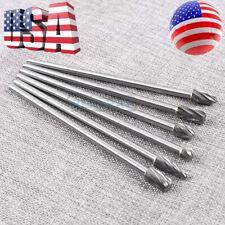 10mm Rotary Aluminum Cut Burr 6mm 14 Shank 150mm Long Reach Carbide Burs 6pcs