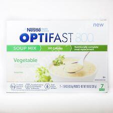 OPTIFAST 800 VEGETABLE SOUP -1 CASE - 84 SERVINGS - NEW & IMPROVED FORMULA