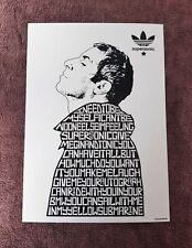 More details for oasis/liam gallagher/supersonic a4 size typography art print/poster/picture