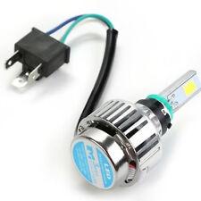 Motorcycle 4000LM 34W H6 H4 Hi/Lo LED Headlight Bulb Moto Fog Lamp BA20D 6500K