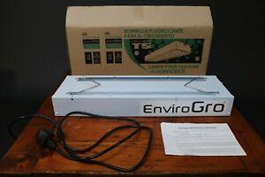 EnviroGro 2FT 2Tube T5 Hanging Fixture Propagation Grow Tent Light Hydroponics