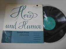 """LP Hör Joseph Plaut - Herz und Humor 10"""" (6 Stücke) BERTELSMANN SCHALLPLATTEN"""