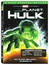 PLANET HULK DVD 2 DISC SPECIAL EDITION DIGITAL COPY TOO INCREDIBLE